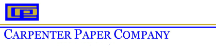 Carpenter Paper Company Logo